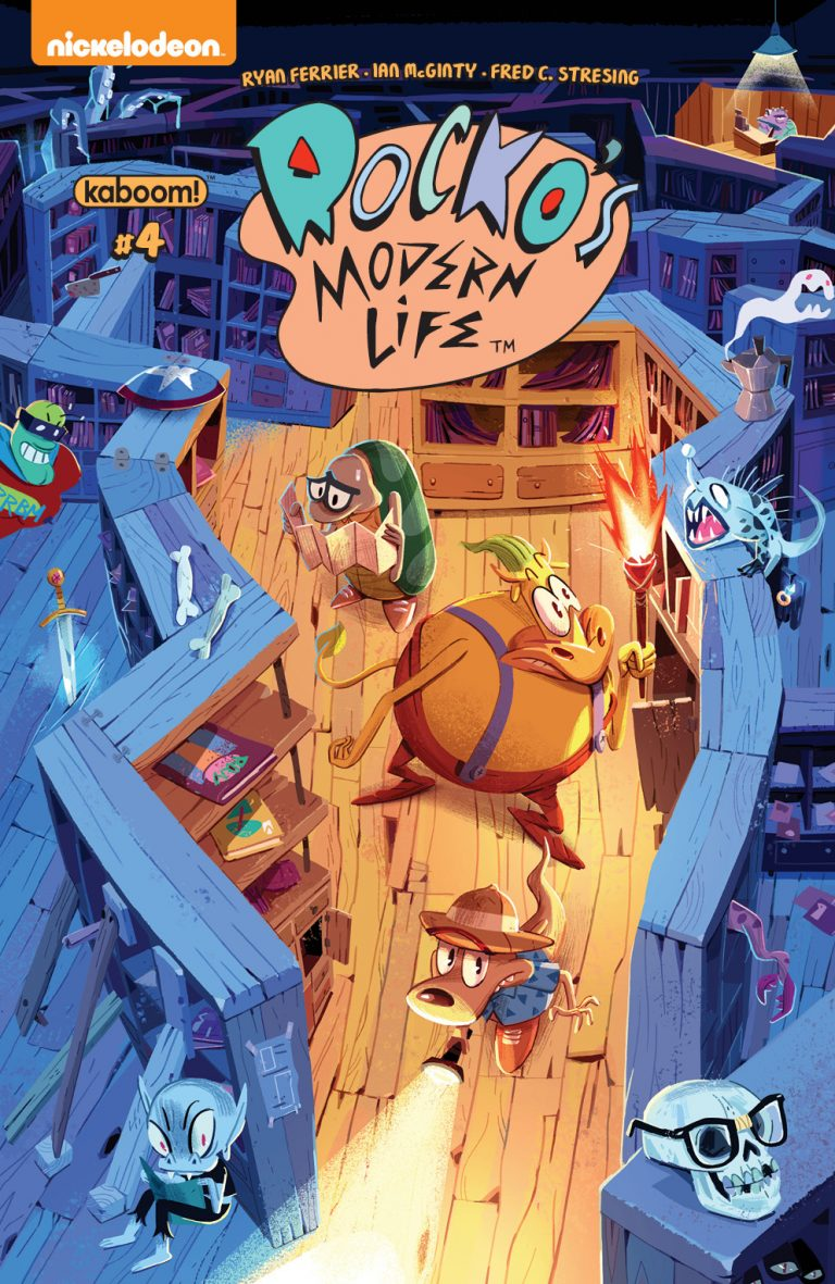 Week In Review: Betrothed #1, Rocko's Modern Life #4, VS #2