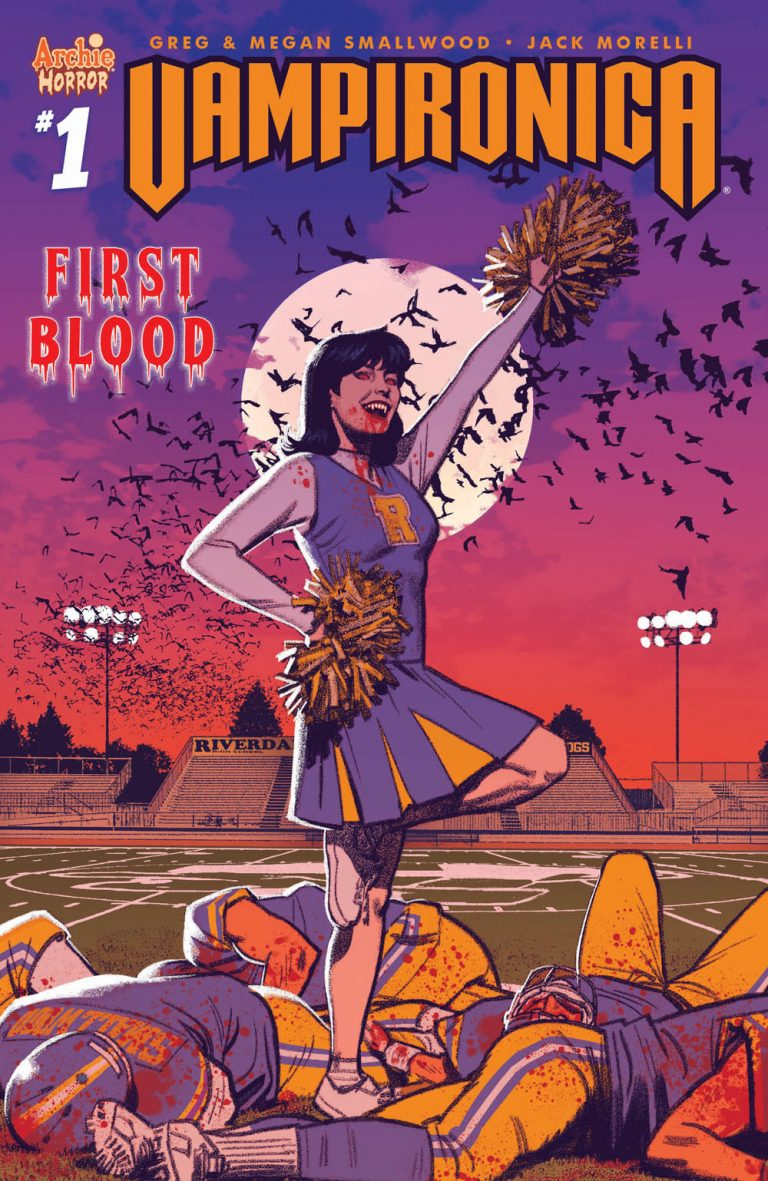 Cover to 'Vampironica' #1. Art by Greg Smallwood/Archie Comics