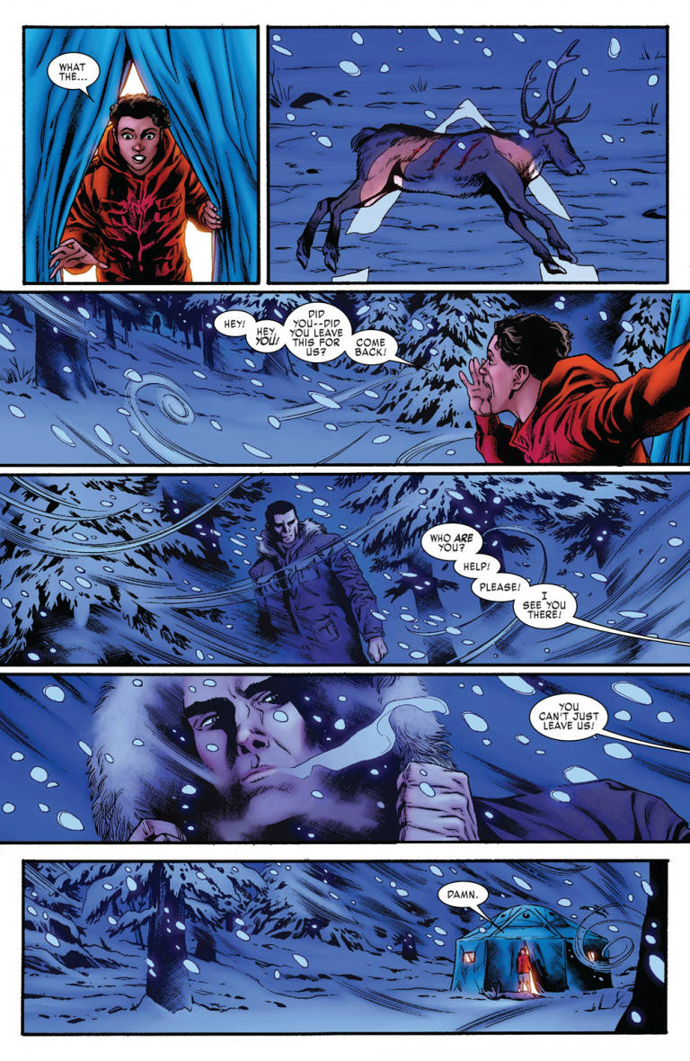 Interior page from 'Weapon H' #1. Art by Cory Smith, Morry Hollowell, and Joe Caramagna/Marvel Comics