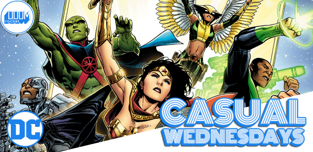 What the hey, let's talk June solicits -- CASUAL WEDNESDAYS WITH DOOMROCKET