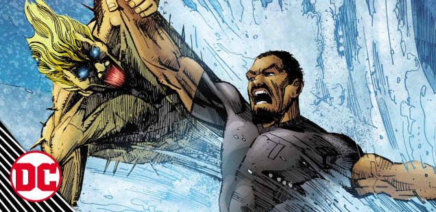 EXCLUSIVE: Michael hunts an aqua-king in 'The Wild Storm: Michael Cray' #6