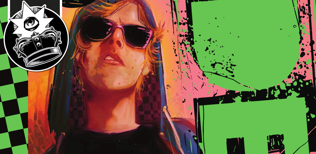'Punks Not Dead' #2 engulfs us in an inferno of compelling narrative and killer art