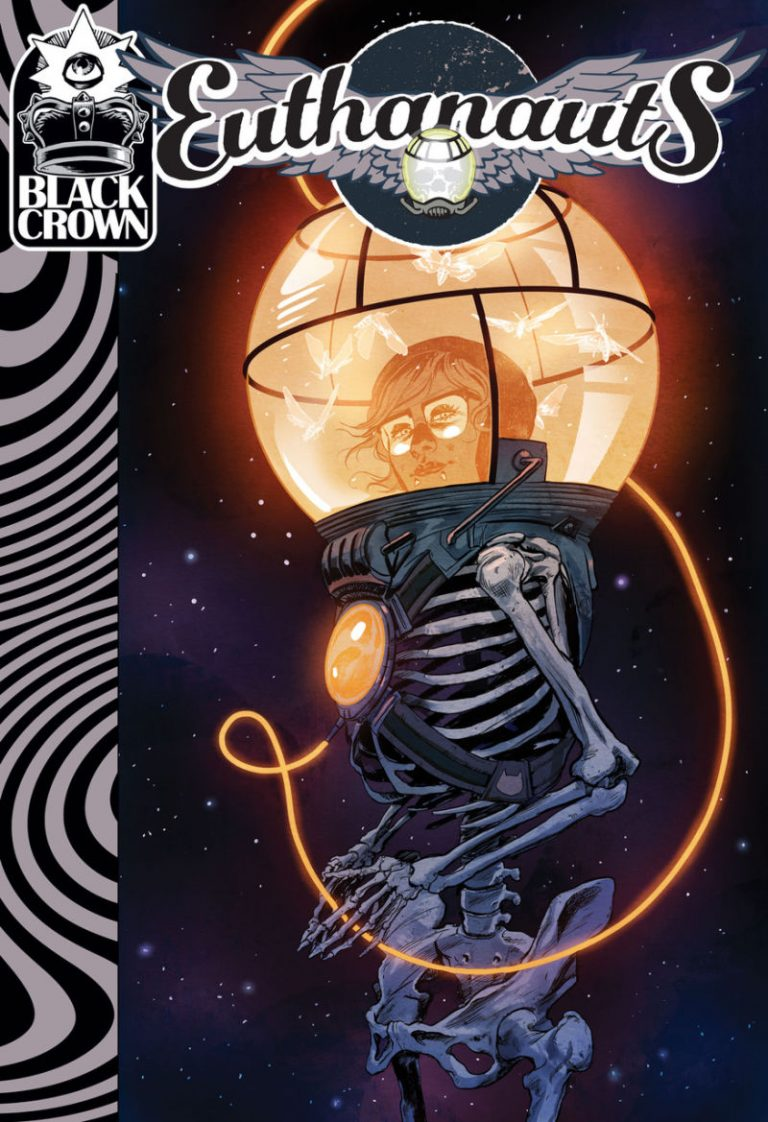 Cover to 'Euthanauts' #1. Art by Nick Robles/Black Crown/IDW Publishing