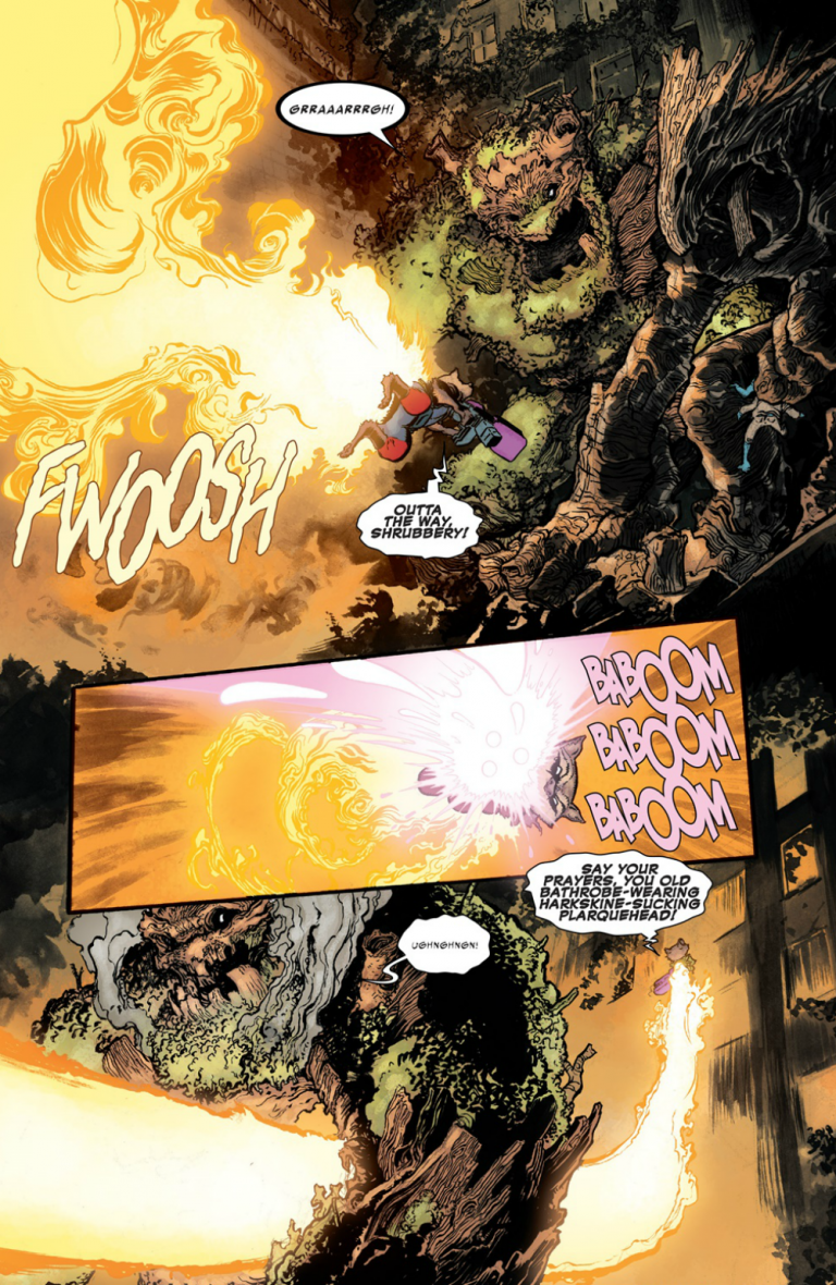 Interior page from 'Infinity Countdown' #1. Art by Aaron Kuder, Jordie Bellaire, and Cory Petit/Marvel Comics