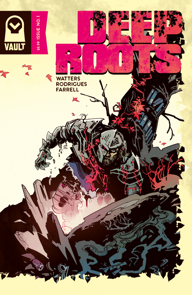 Cover to 'Deep Roots' #1. Art by Dani Strips/Vault Comics