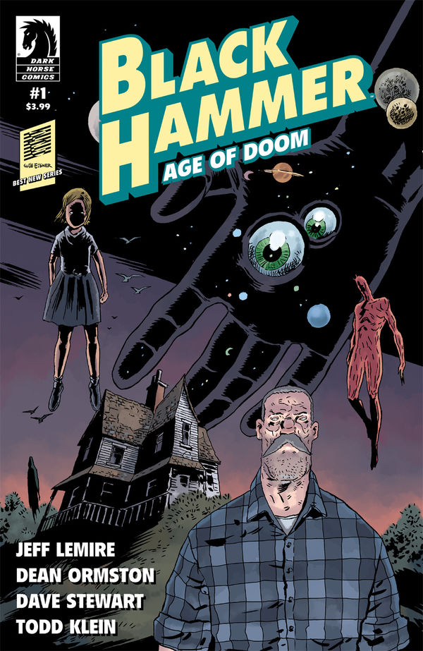 Cover to 'Black Hammer: Age of Doom' #1. Art by Dean Ormston and Dave Stewart/Dark Horse Comics