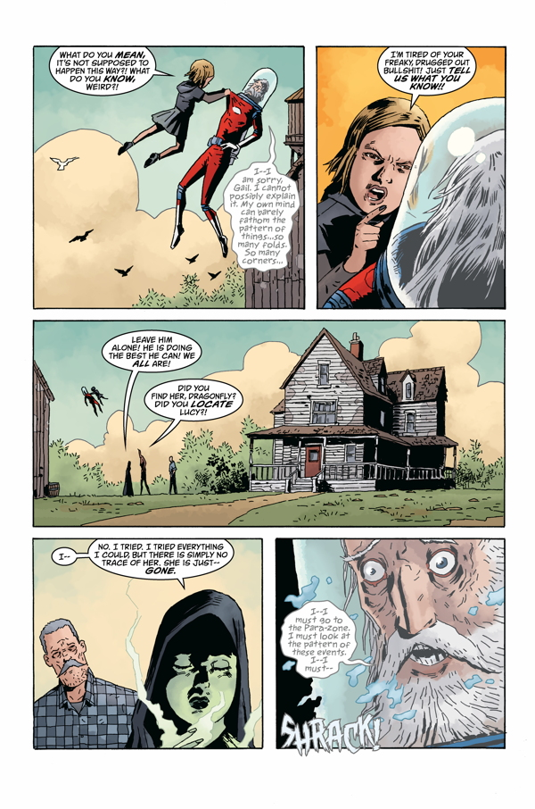Interior page from 'Black Hammer: Age of Doom' #1. Art by Dean Ormston, Dave Stewart, and Todd Klein/Dark Horse Comics