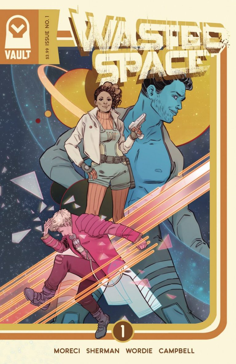 Cover to 'Wasted Space' #1. Art by Marguerite Sauvage/Vault Comics