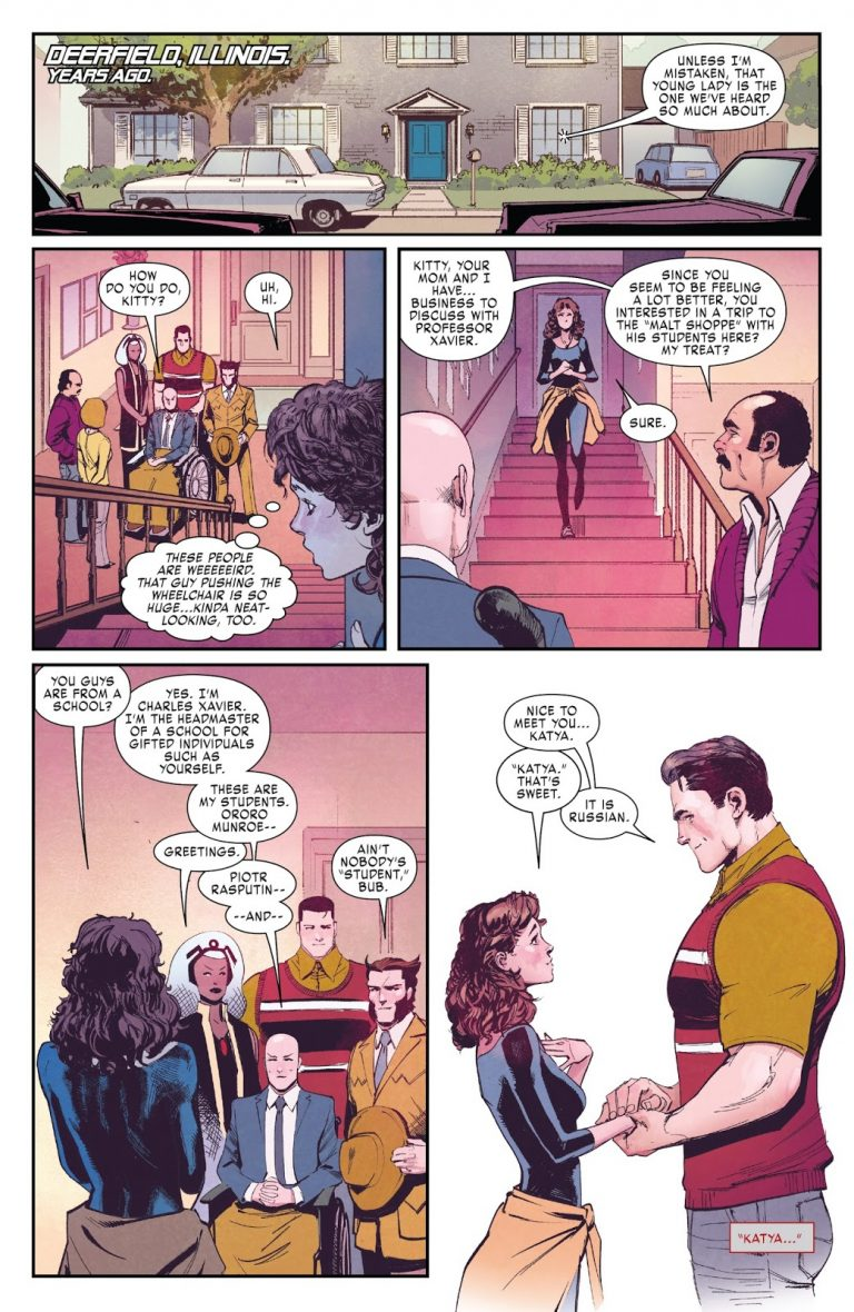 Interior page from 'X-Men Gold' #26. Art by David Marquez, Matthew Wilson, and Cory Petit/Marvel Comics
