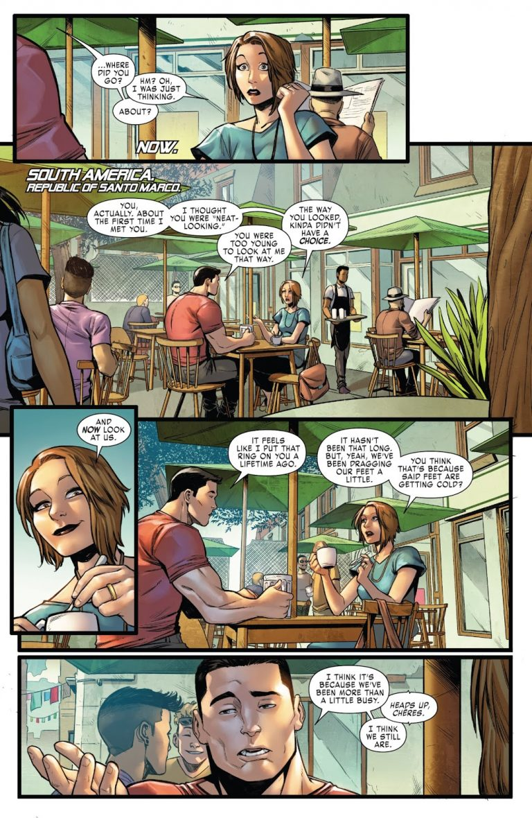 Interior page from 'X-Men Gold' #26. Art by Michele Bandini, Arif Prianto, and Cory Petit/Marvel Comics