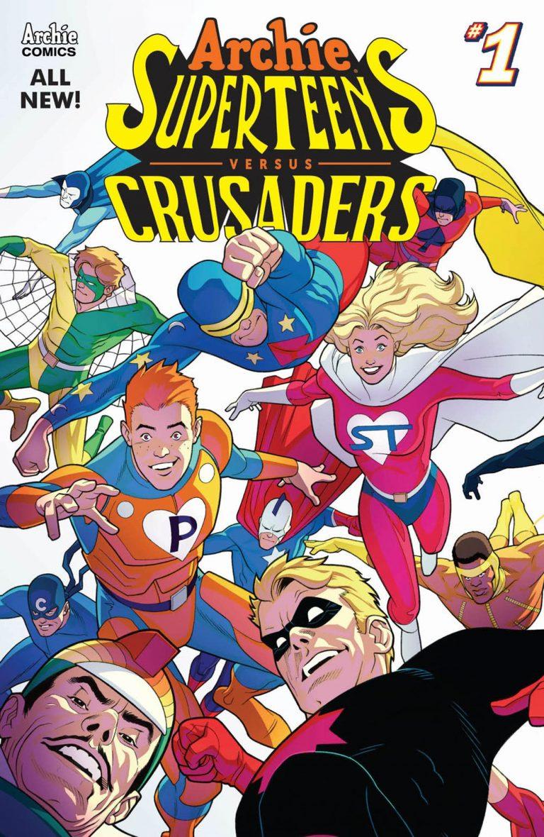 ARCHIE SUPERTEENS VS. CRUSADERS #1