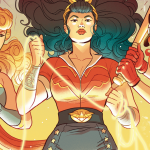 EXCLUSIVE: The Bombshell Flash zooms into a glorious 'Bombshells United' debut