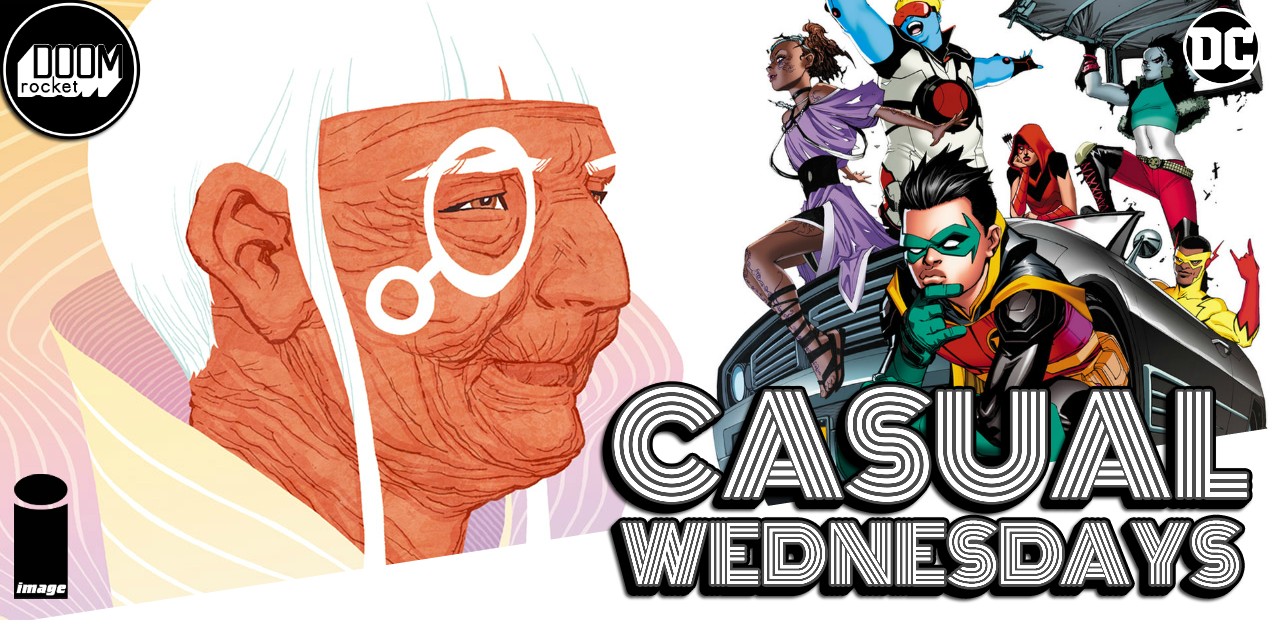 You bet we're talking July solicits — CASUAL WEDNESDAYS WITH DOOMROCKET