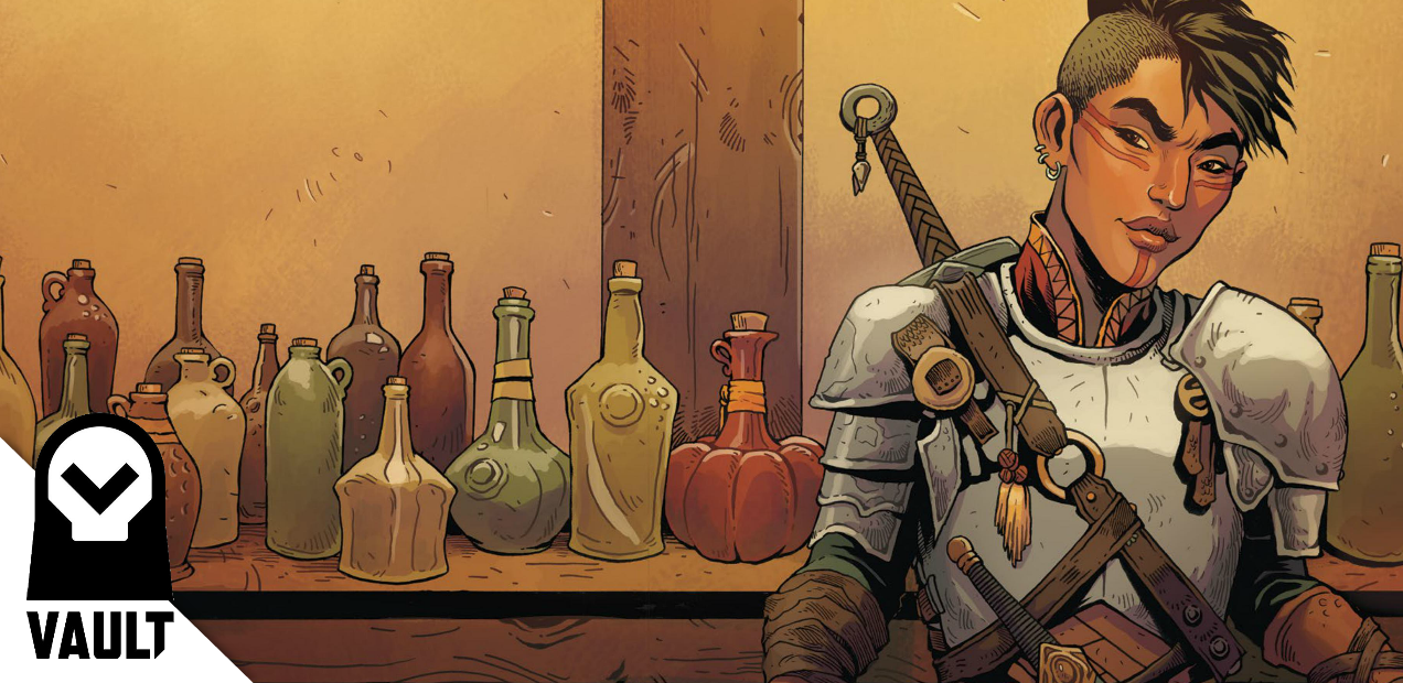EXCLUSIVE: Bethany's journey is fraught with (Elissar's) demons in 'Songs for the Dead' #2
