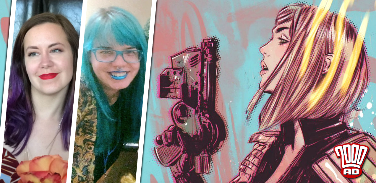 10 things concerning Katy Rex, Liana Kangas and this summer's '2000 AD Sci-Fi Special'