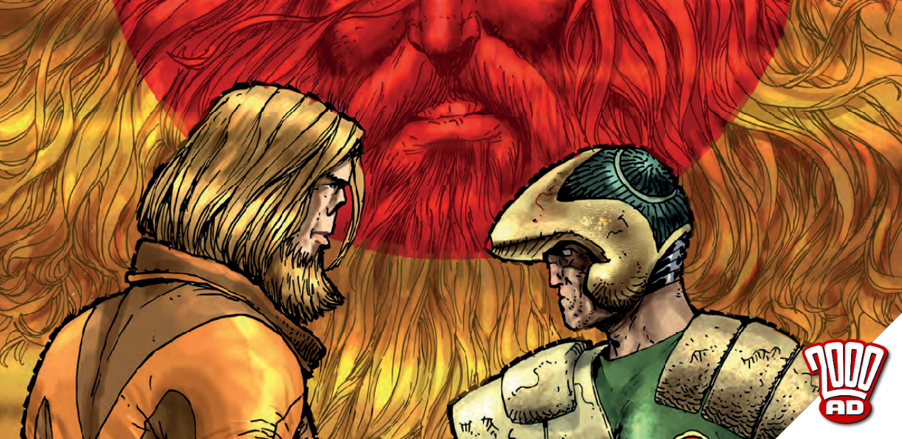 "Preview: ""Strontium Dog"" comes to a thrill-powered end with '2000 AD' prog 2081"