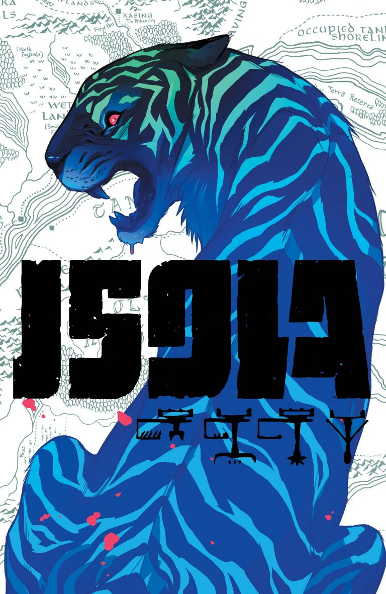Cover to 'Isola' #2. Art by Karl Kerschl and Msassyk/Image Comics