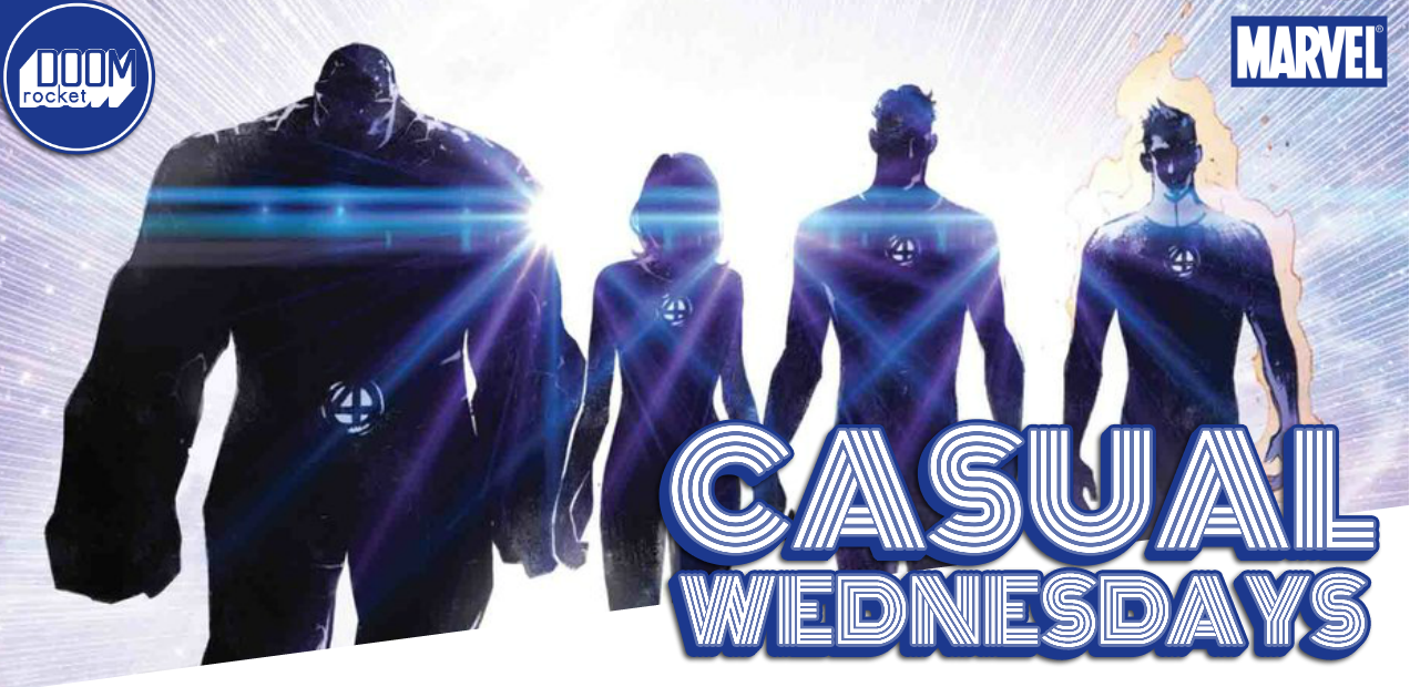 Geeking out on 'Fantastic Four' (and other August solicits) — CASUAL WEDNESDAYS WITH DOOMROCKET