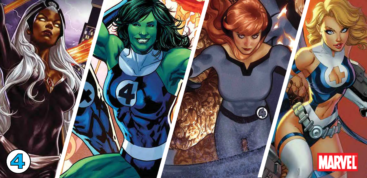 """Return of the Fantastic Four"" variant month marks the return of Marvel's First Family"