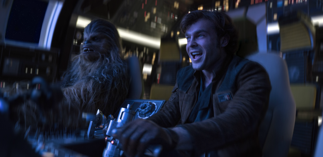 'Solo: A Star Wars Story' a scruffy-lookin' heist film that averts disaster with grace