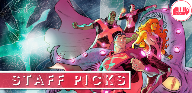Staff Picks: The Justice League prepares for its wildest adventure yet with 'No Justice'