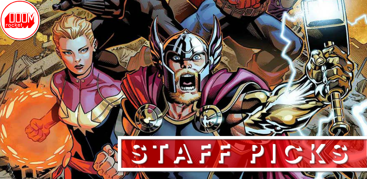 Staff Picks: Over-sized 'Avengers' debut sets a tone for the future of Marvel Comics