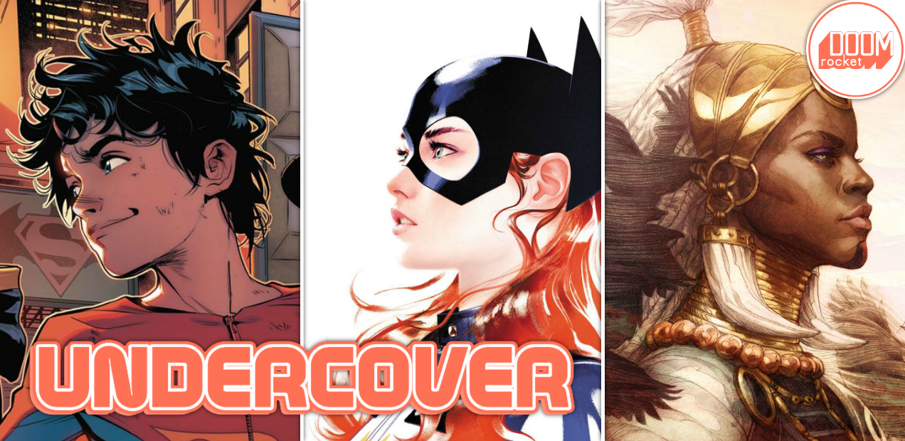 Undercover: Just look at Joshua Middleton's latest 'Batgirl' variant, good god