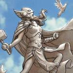 'At the Gates of Valhalla' a thoroughly enjoyable jaunt through Aaron's 'Thor' run