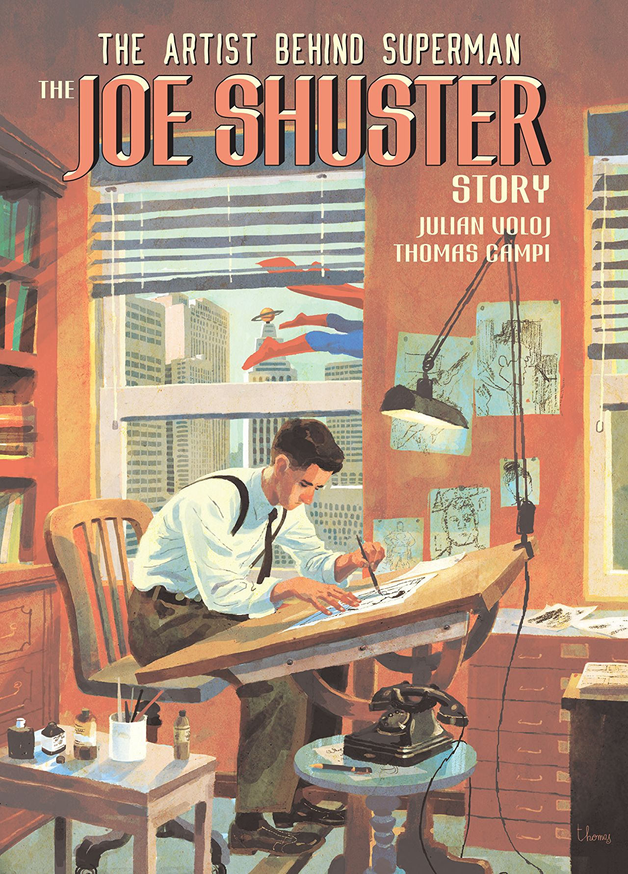 The Artist Behind Superman: The Joe Shuster Story