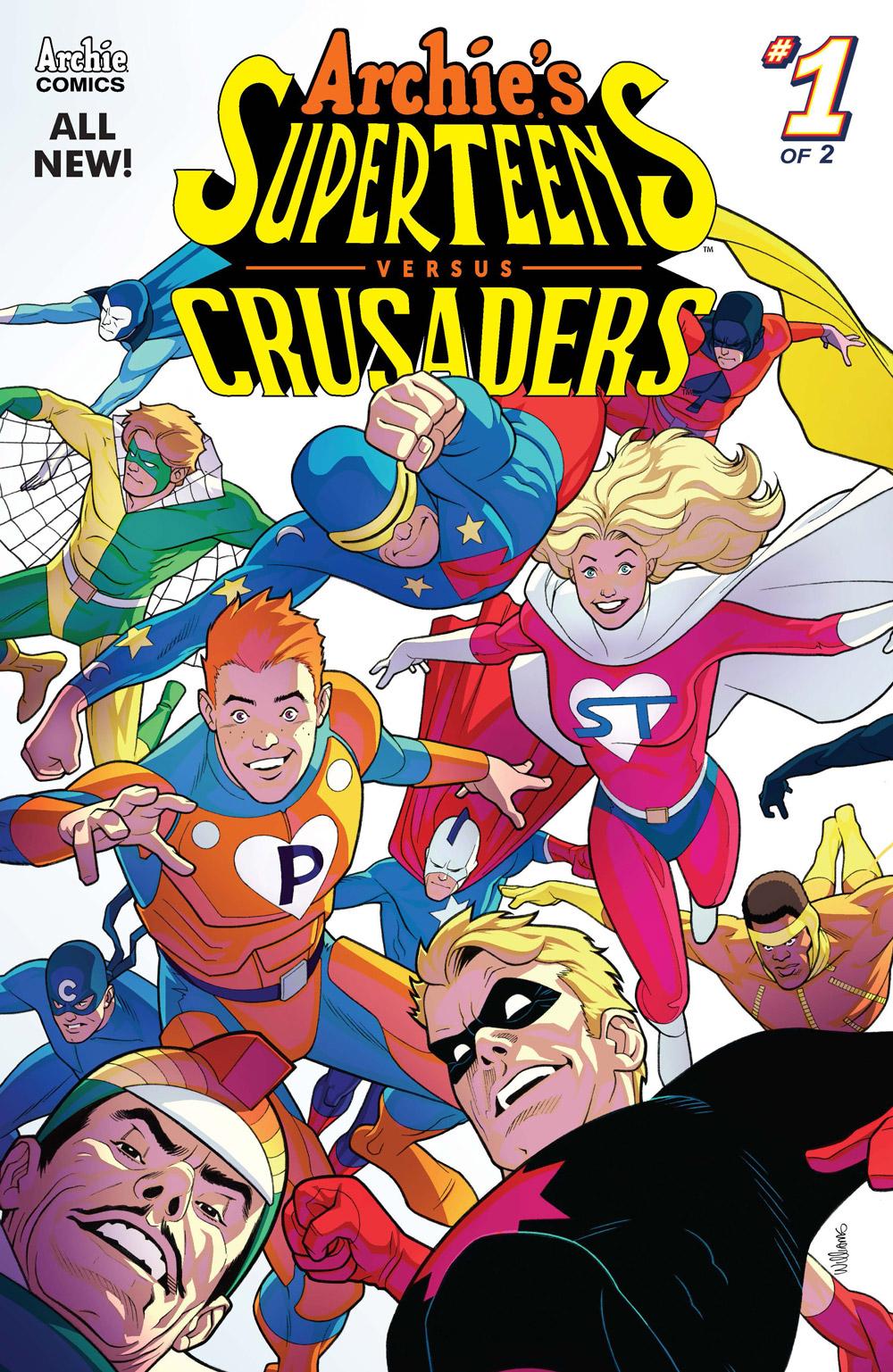 'Archie's Superteens vs. Crusaders' #1