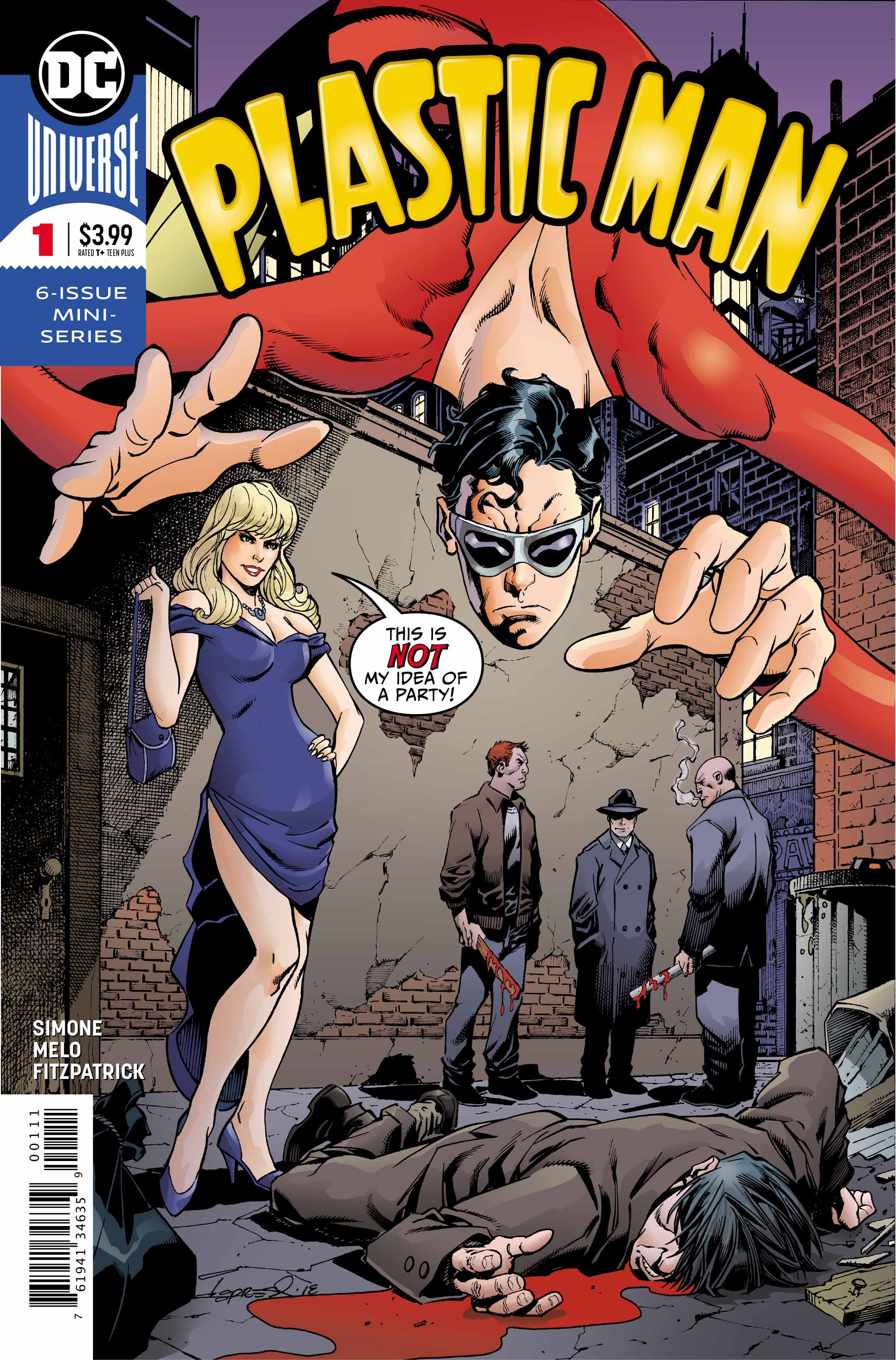 WEEK IN REVIEW: Eternity Girl #4, Plastic Man #1