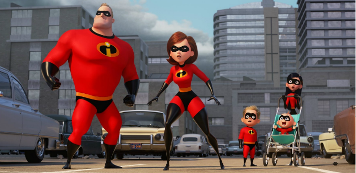 There's a great movie rattling around inside the monolithic but empty 'Incredibles 2'