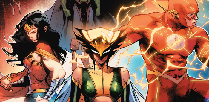 'Justice League' #2 imbued with Snyder's particular brand of humor, dread and danger