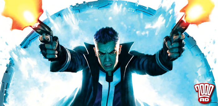 The debut of 'Skip Tracer' nears its end and Rob Williams enters the fray in '2000 AD' prog 2088