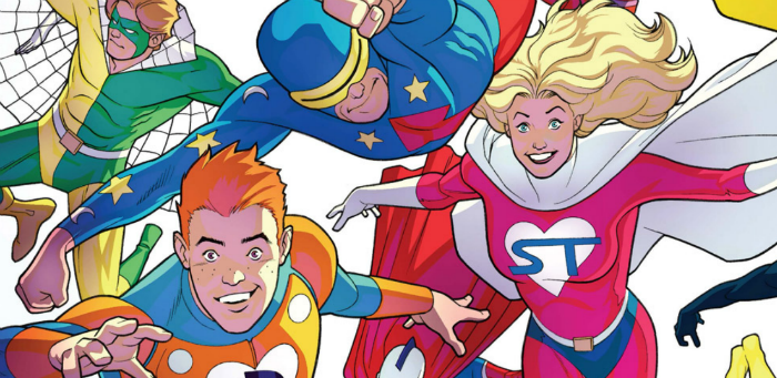 'Archie's SuperTeens vs. Crusaders' #1 out to have maximum possible fun, and we're invited