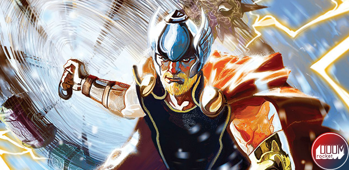 Aaron begins his journey towards the end of an uru-shattering run with 'Thor' #1