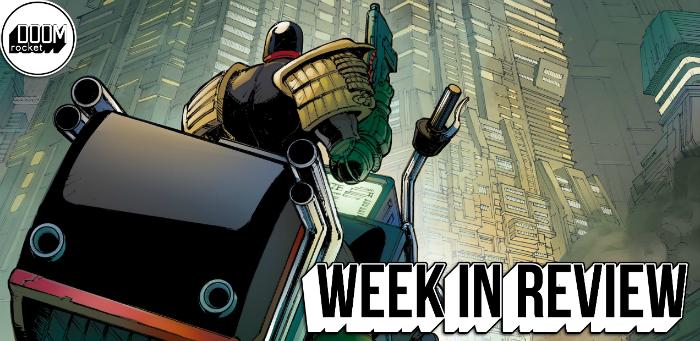Judge Dredd arrives on wheels of epic proportion to restore order in 'Under Siege' #1