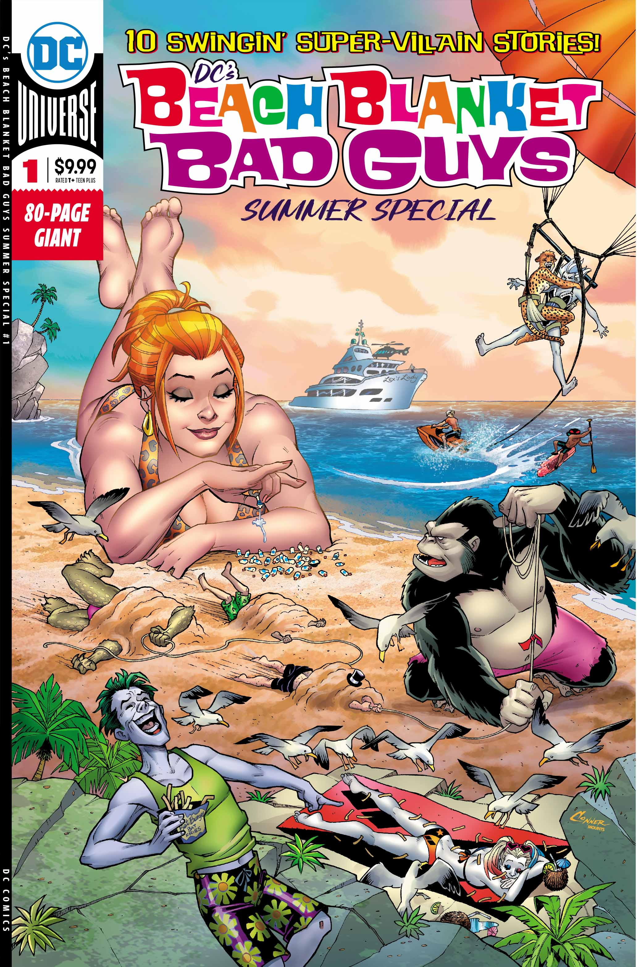 DC's Beach Blanket Bad Guys Summer Special #1