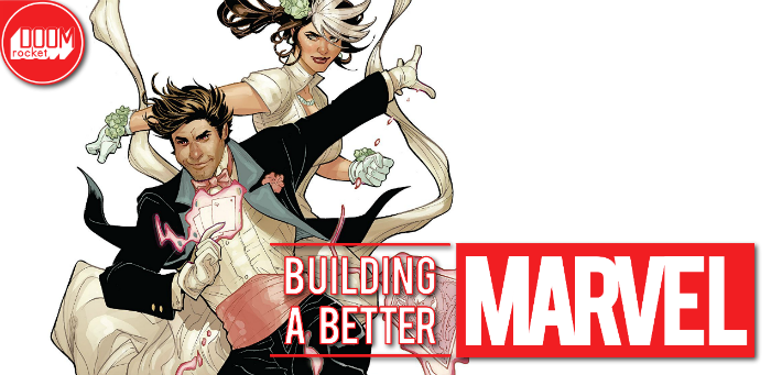 Marvel's most popular star-crossed lovers enjoy an intergalactic honeymoon in 'Mr. & Mrs. X' #1