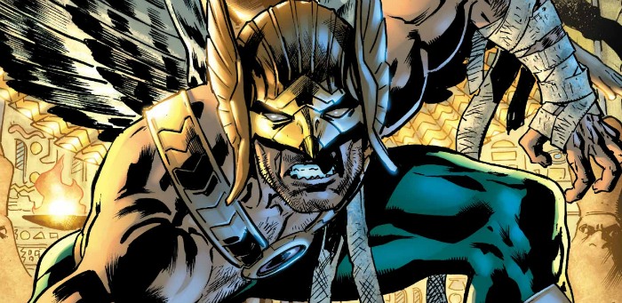 Venditti & Hitch's gorgeous labyrinth leads towards a greater truth in 'Hawkman'