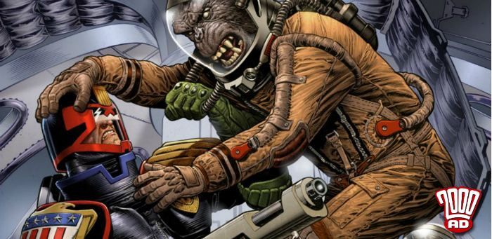 Preview: Judge Dredd takes on a horde of dang dirty apes in '2000 AD' prog 2089
