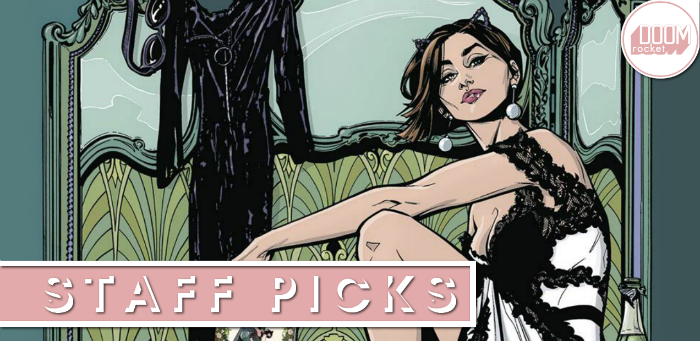 Staff Picks: Joëlle Jones shoots to the top of DC's A-list with the glorious 'Catwoman' #1