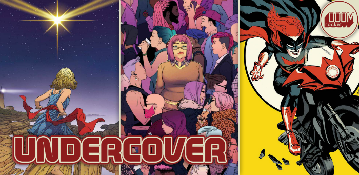 Undercover: Michael Cho's 'Batwoman' a full-throttle force of nature