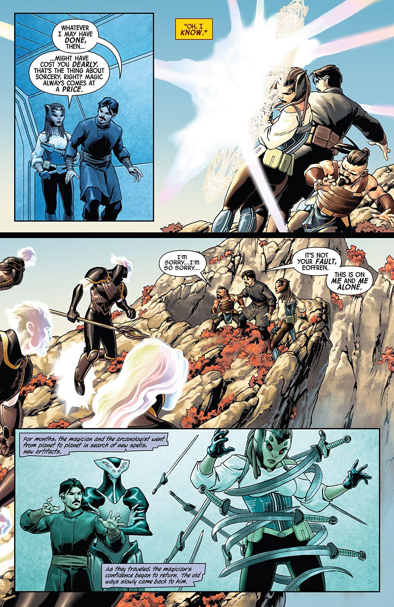 Doctor Strange #1-4