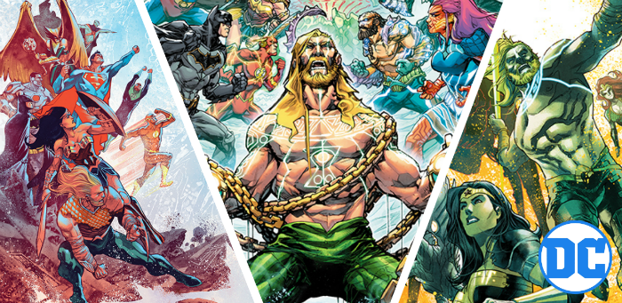 'Justice League/Aquaman: Drowned Earth' to launch this Halloween, come hell or (very) high water