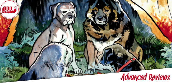 'Beasts of Burden: Wise Dogs and Eldritch Men' a distinct vision of world, character, and mythos