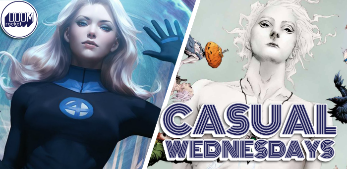 'FF' & 'Sandman' Return, Time to Dance — CASUAL WEDNESDAYS WITH DOOMROCKET