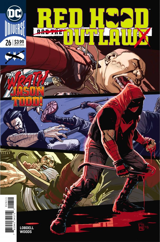 RED HOOD AND THE OUTLAWS #26