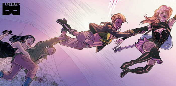 Preview: Kim Q. makes a tough call in the second kick-ass issue of 'Oh S#!t It's Kim & Kim'
