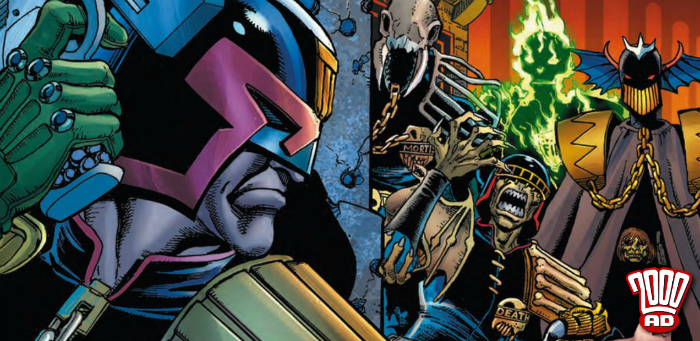 Praise Mighty Tharg! '2000 AD' Prog 2100 offers new stories to nonscrot and seto thargo alike
